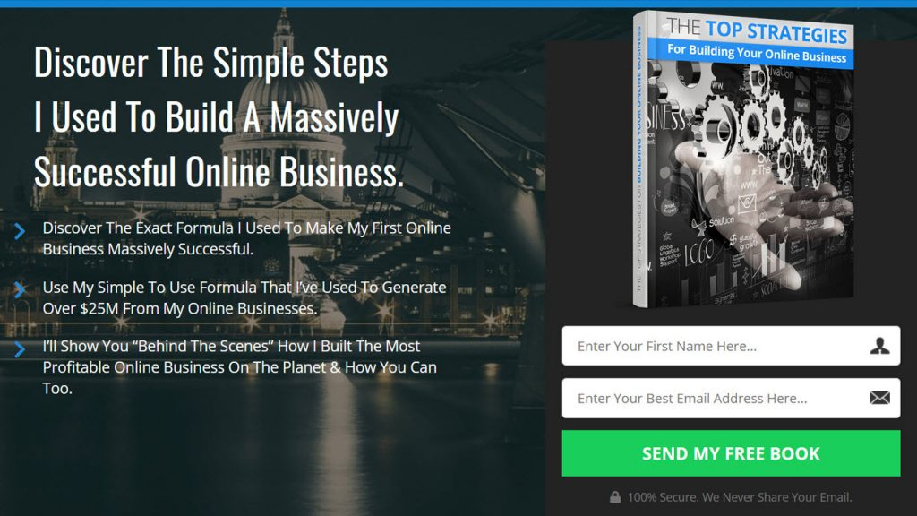 Top Strategies For Building Your Online Business FREE Book